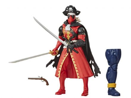 Hasbro Marvel Legends Deadpool Wave Pirate Deadpool Action Figure (Strong Guy BAF)